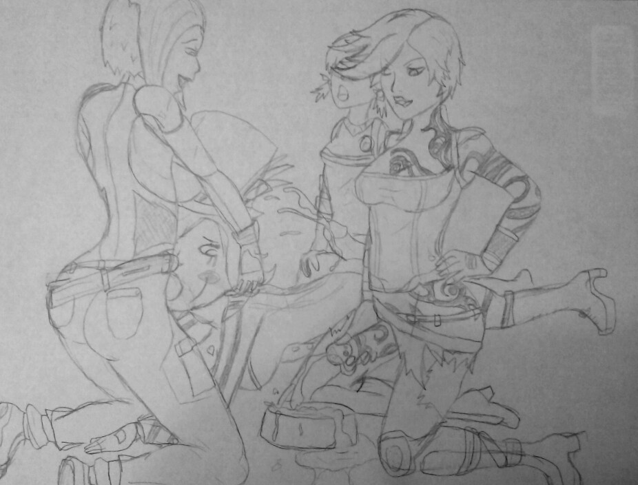krieg 3 maya and borderlands Two face sugar and spice