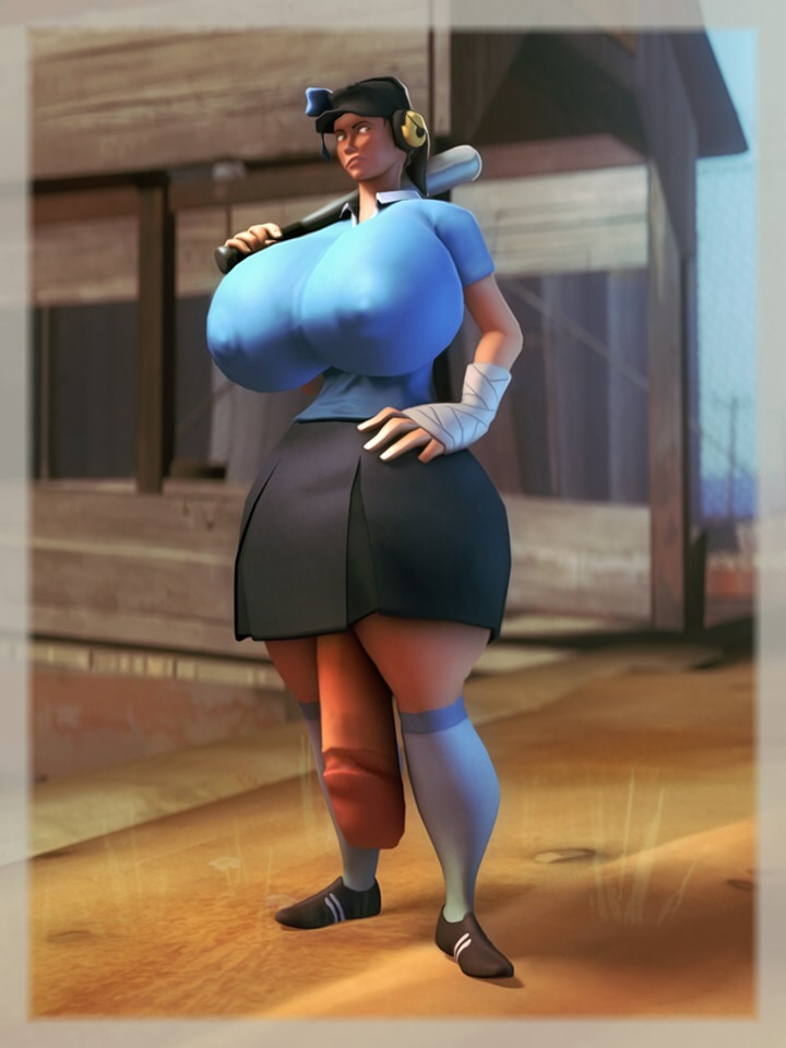 pyro team fortress 2 girl Big mac from my little pony