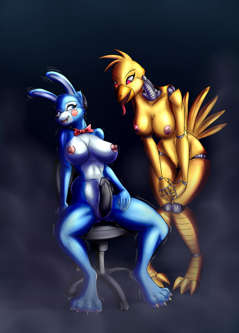 fnaf toy chica Cream the rabbit and cheese