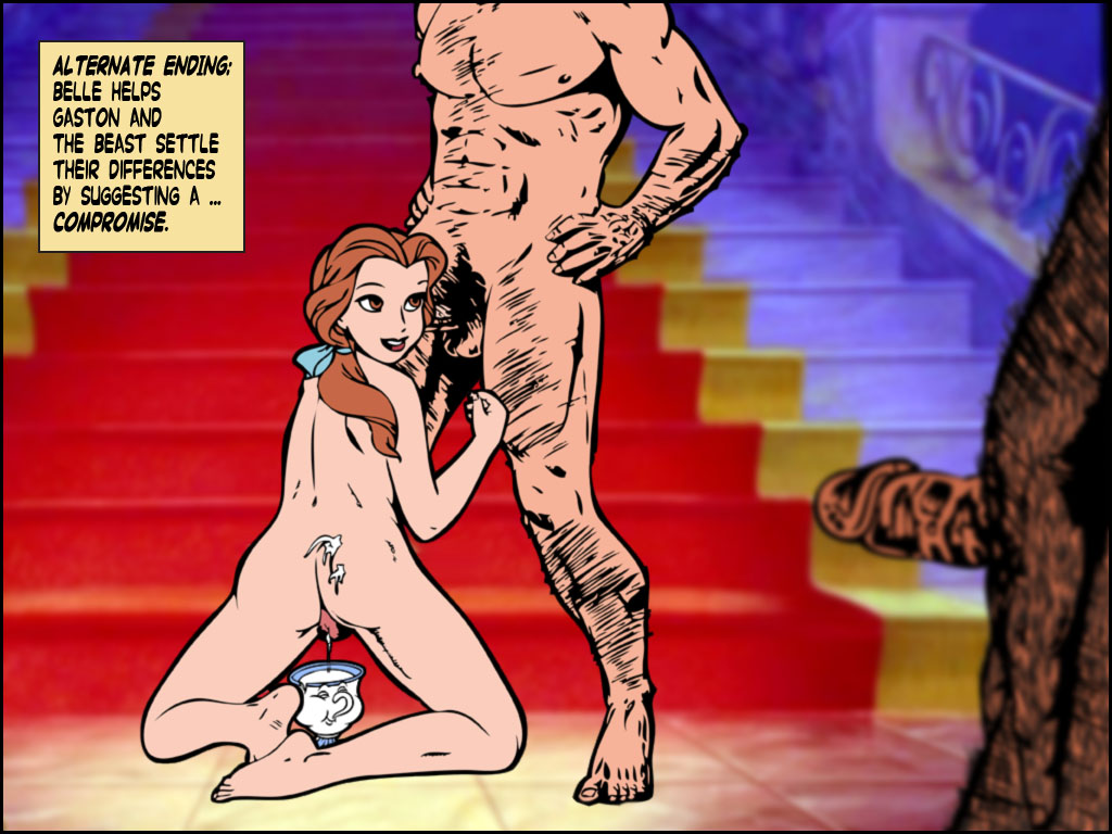 nude and the beauty beast belle Sym-bionic titan porn