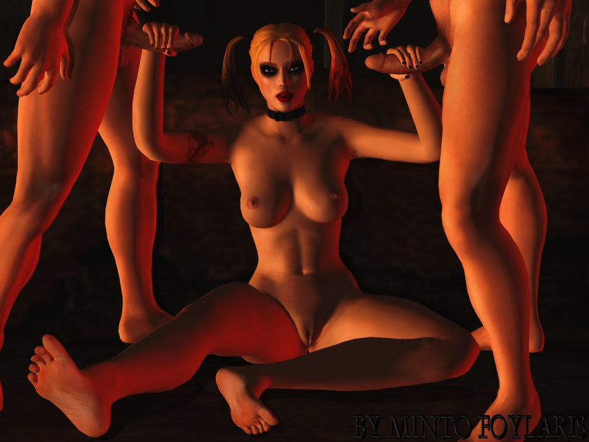 nude city arkham harley quinn Wii fit trainer rule 63