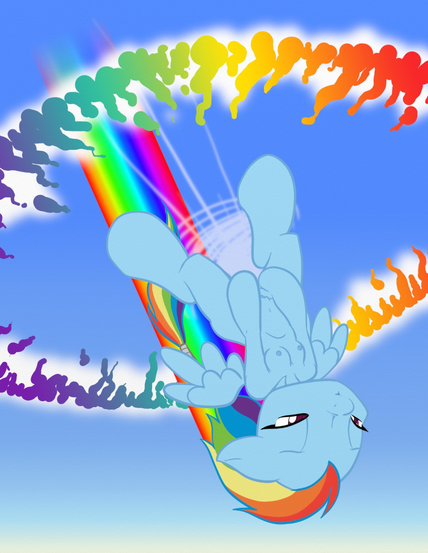 my pony rainbow dash hentai little The mangle five nights at freddy's