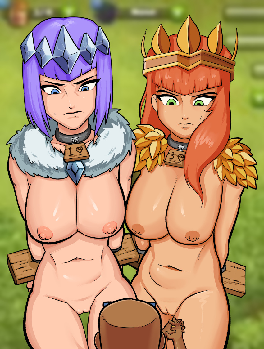 of archer clash clans Tomboy-chan nude collection