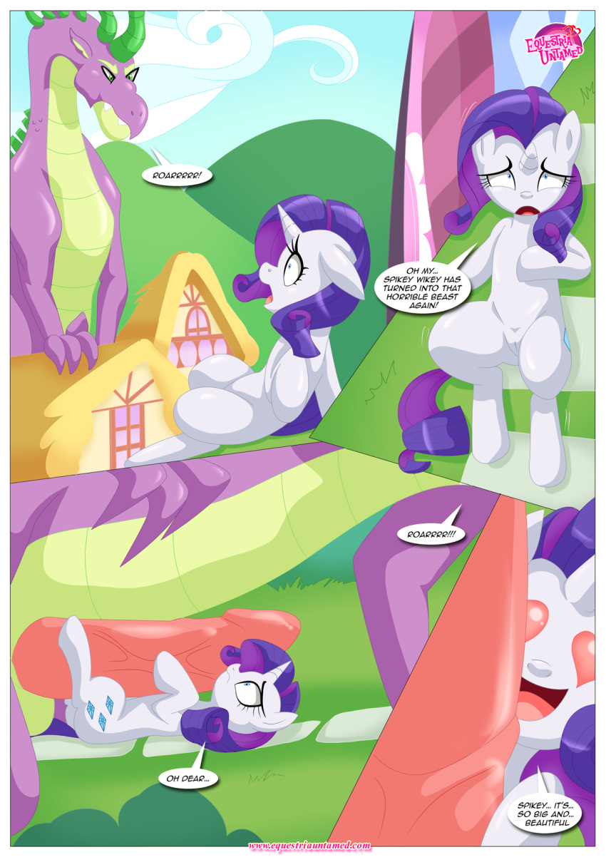 rarity pony my and spike little Highschool of the dead fanfic